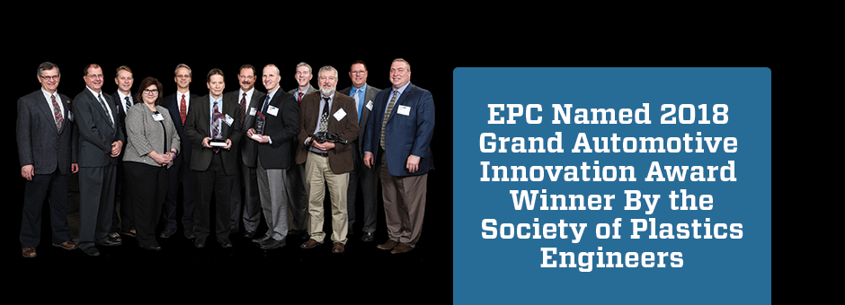 SPE Recognizes EPC for Best Plastic Innovation