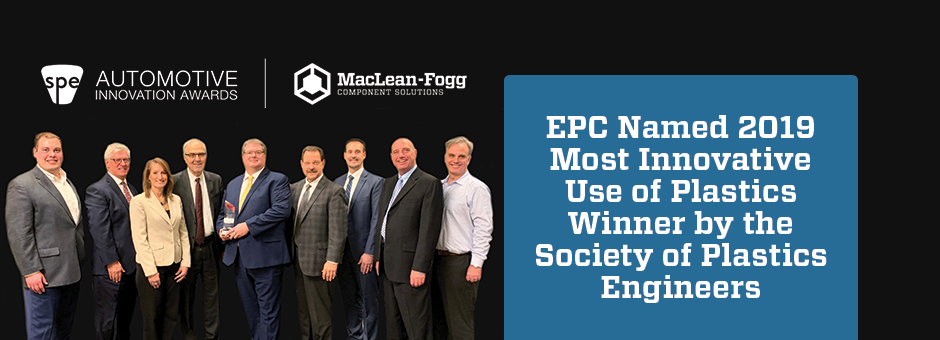 SPE Recognizes EPC for Plastic Innovation