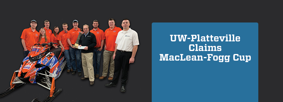UW-Platteville Claims MacLean-Fogg Cup